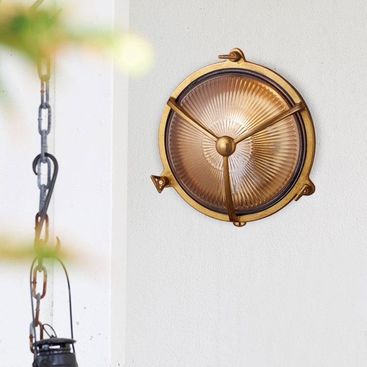Beach house-round wall lamp