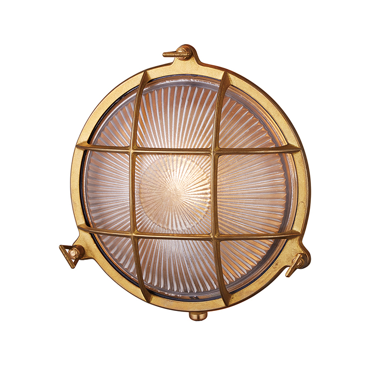 Beach house-round wall lamp (L)