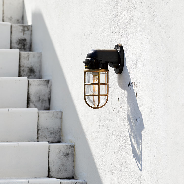 Navy base-wall lamp