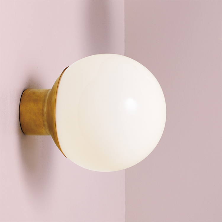 Groove-wall lamp