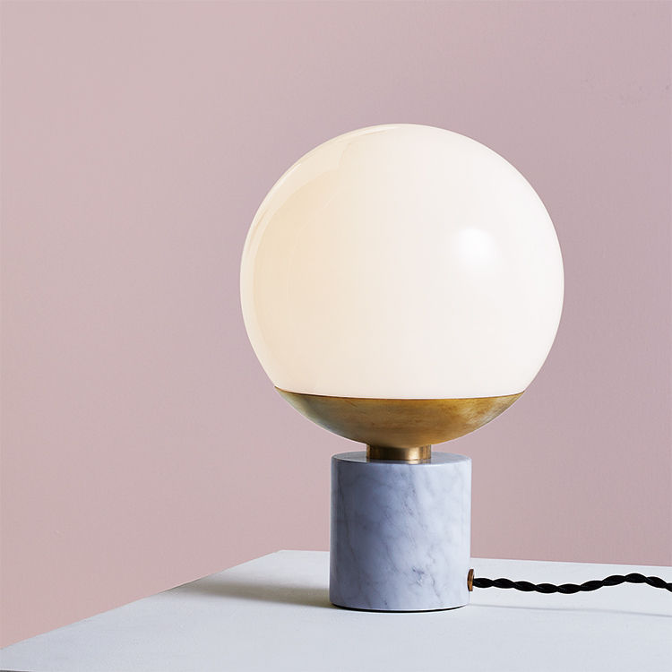 Groove-table lamp